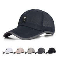 Unisex Cotton Adjustable Outdoor Sport Sun Hat UV Protect Fishing Baseball Cap