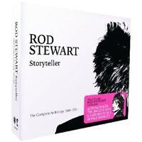 ROD STEWART: STORYTELLER-COMPLETE ANTHOLOGY 1964-1990 4CD CLASSIC ROCK POP NEU