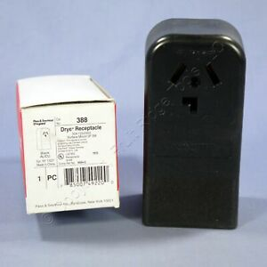 New Pass & Seymour Dryer Outlet Surface Mount Receptacle 10-30 30A 125/250V 388