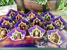 Harry Potter Chocolate Frog Card - COMPLETE 13 card collection with MERLIN