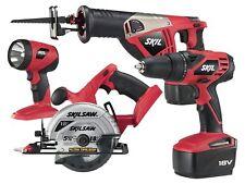 SKIL 2888-10 NEW 18 Volt Ni-Cad 4 Tool Cordless 18V Combo Kit