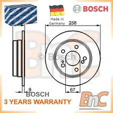 2x BOSCH REAR BRAKE DISC SET MERCEDES-BENZ OEM 0986478188 A2014231112