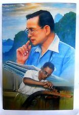 Bild picture König King Bhumibol Adulyadej RAMA IX Thailand 15x10 cm  (s37