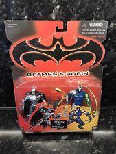 Kenner Batman Brains Vs Brawn Bane Batman Robin Figures