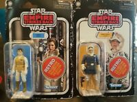 Star Wars Retro Collection The Empire Strikes Back Han Solo Leia Hoth.
