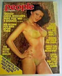 People With Pix Magazine, November 2 1978 - #M117