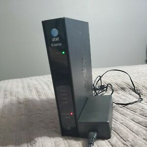 AT&T Att Uverse u-verse Pace 3801HGV 4 port Wireless Modem Router