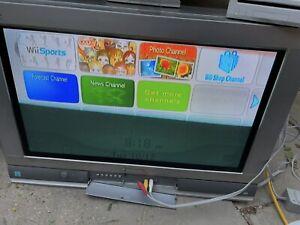 "Panasonic Tau CT-26WX15 HD CRT 26"" Widescreen TV w/ Remote Retro Gaming High Def"
