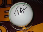 Courtney Walsh (West Indies legend) signed White Cricket Ball + COA / proof