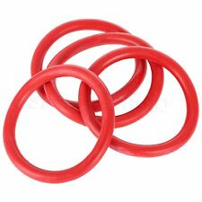 4Pcs Replacement Red Bumper Fender Quick Release Fasteners Rubber Bands O-Rings