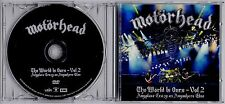 MOTORHEAD The World Is Ours Vol 2 2012 European promo DVD