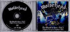 MOTORHEAD The World Is Ours Vol 2 2012 European promo DVD