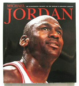 MICHAEL JORDAN: ILLUSTRATED TRIBUTE COFFEE TABLE SOFTCOVER BOOK 1997