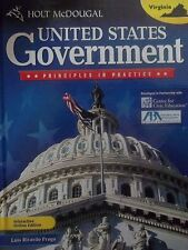 United States Government Set of 2 - Student & Teacher Edition - Holt McDougal