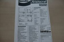 185844) Bedford Blitz Bendix Arisocrat Motorhome Mk I Prospekt 197?