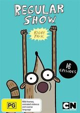 Regular Show - Rigby Pack (DVD, 2015) New  Region 4
