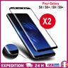 Vitre verre trempé film protection écran 3D Intégral Total Samsung S8/S9/S10/+