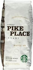 Starbucks Pike Place (Case of 6 - 16oz) Whole Bean Medium Roast Coffee BB 8/2020