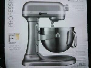 KitchenAid KP26M9PCCU Professional Series 6QT Bowl Lift Stand Mixer - New