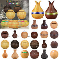 LED Ultrasonic Humidifier USB Essential Oil Diffuser Aroma Aromatherapy Purifier
