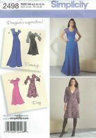 Simplicity 1778 Misses'/Miss Petite Dress w Variations 6 to 14    Sewing Pattern