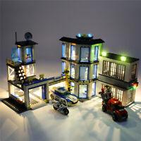 USB Interface LED Lighting Kit For LEGO 60141 LEGO City Series Police Station