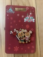 GINGERBREAD COOKIE MICKEY MOUSE MINNIE MOUSE HOLIDAY 2020 PIN DISNEY CHRISTMAS