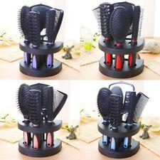5x Professional Salon Hairbrush Womens Ladies Makeup Hand Hair Brush US yj974