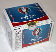 Panini EM EURO 2016 France STICKER - INTERNATIONAL ED. 1 x DISPLAY BOX 100 Tüten