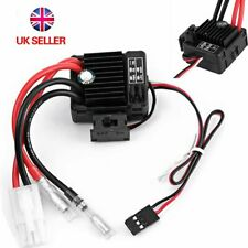RC Auto Car Boat 1060 60A Brushed ESC Waterproof Electronic Speed Controller UK