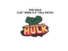 THE INCREDIBLE HULK Retro Marvel Avengers Superhero Patch-FREE S&H US Seller