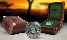 WATER BUFFALO African Big Five Mauquoy 5 OZ Silver Coin 2020 w/box+CoA