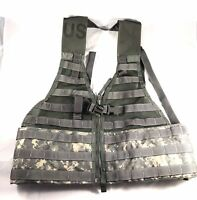 Tactical Fighting Load Carrier Vest MOLLE II ACU FLC SDS USGI LBV US Army Used