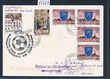 65757) SWISS SF Fussball EM Wien - Zürich - Lissabon 12.6.2004, Kte ab Jersey