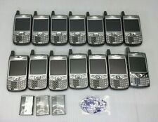 LOT 14 VINTAGE VERIZON PALM TREO 650 700P SILVER GRAY SMARTPHONE