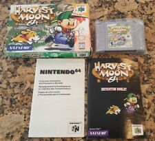 Harvest Moon 64 (Nintendo 64, 1999) N64 w Box & Booklet