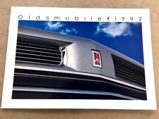 1992 Oldsmobile Sales Brochure Toronado Custom Cruiser Cutlass Supreme Ciera
