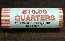 2017 OZARK RIVERWAYS, MO ROLL 20P/20D (40 coins) BU coins ** IN STOCK **