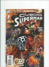 DC Comics Tales of the Sinestro Corps Cyborg Superman One Shot NM-/M 2007