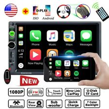 """7"""" Car Radio Apple/Andriod Carplay Bluetooth Car Stereo Touch Screen Double 2DIN(Fits: 2006 Volvo)"""