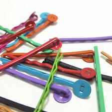10 Hair Slides with Glue Pad - Choose a Colour Hair Bobby Pin Slides