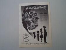 advertising Pubblicità 1960 BOLEX PAILLARD B8L B 8 L