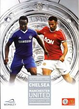 CHELSEA V MAN UTD 2010 COMMUNITY SHIELD PROGRAMME MINT