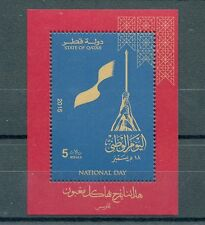 Qatar 2015 MNH National Day 1v S/S Flags