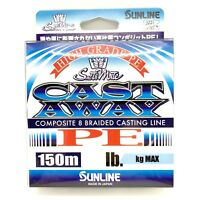 NEW SUNLINE SaltiMate CAST AWAY PE 150m High Grade Braided Line Free Shipping