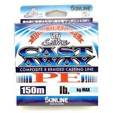 Sunline P.E Line Cast Away PE 150m 10lb (4814)