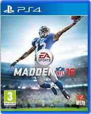 Madden NFL 16 PS4 Brand New & Sealed Free Express Post In Stock