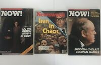 "Newsweek Magazine January 1979 ""Iran in Chaos""+Now Magazines December 1979  (23)"