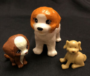 LOT OF 3 BARBIE DOLL DOGS ANIMALS PETS