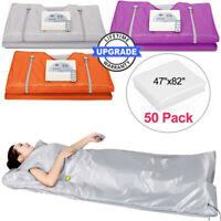 Far Infrared Sauna Blanket Heating therapy Slim Bag SPA Body Detox w/zipper gift